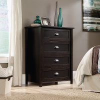 Black 4-Drawer Chest - County Line