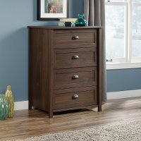 Rum Walnut 4-Drawer Chest - County Line