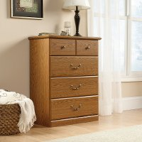 Oak 4-Drawer Chest - Orchard Hills