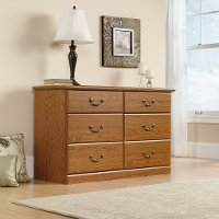 Oak 6-Drawer Dresser - Orchard Hills