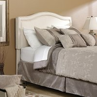 Ivory Queen Upholstered Headboard - Palladia