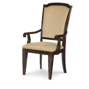 Clearance Sophia Mahogany Classic Dining Arm Chair