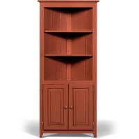 Pantry Heirloom Red Corner Cabinet Rc Willey Furniture Store