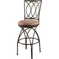 Metal Crossed Legs Bar Stool - Big & Tall