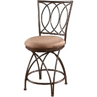 Metal Crossed Legs Counter Stool - Big & Tall