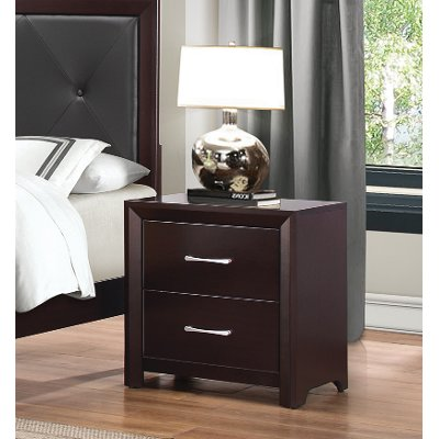 Espresso Nightstand - Edina Collection