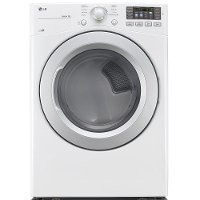 DLE3170W LG Electric Dryer with Sensor Dry - 7.4 cu. ft.  White