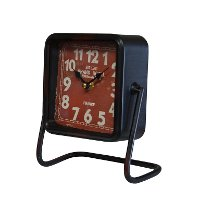 Grand Hotel Metal Table Clock