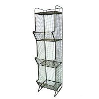 3 Tier Metal Bin Rack