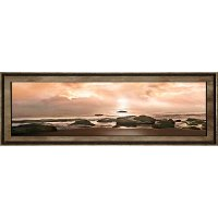Best Seat In The House Ocean Sunset Framed Wall Art