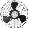 Metal Antique Fan Clock