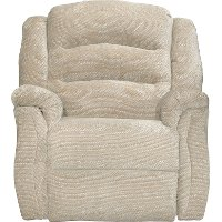 Aloe Tan Power Rocker Recliner - Max