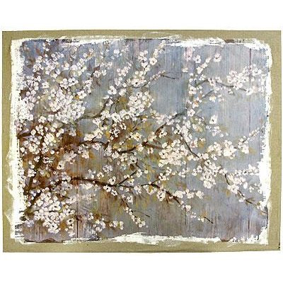 ... Cherry Blossoms Canvas Wall Art