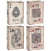 Assorted Playing Cards Book Box