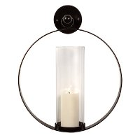 Round Wall Hanging Candle Holder