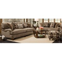 Traditional Mink Brown 2-Piece Room Group - Prodigy