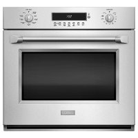 ZET1PHSS-SNG-UMRP Ge Monogram Professional Electronic Convection Single Wall Oven - Stainless Steel