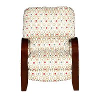 Multi-Colored Push-Back Recliner - Joyful