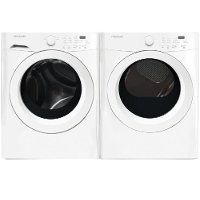WW-50005000-ELE Frigidaire Washer and Electric Dryer Set - White