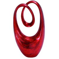 20 Inch Red Sculpture