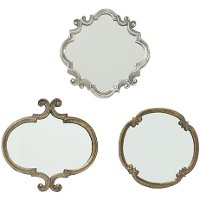 Assorted Meadow Gold Mirror