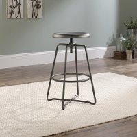 Cannery Bridge Gray Metal Counter Height Stool