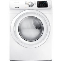 DV42H5000EW Samsung Electric Dryer with Sensor Dry - 7.5 cu. ft. White