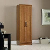 Sienna Oak Storage Cabinet - Home Plus
