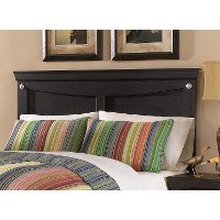 Black Contemporary Twin Headboard - Carlsbad