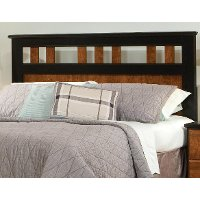 Steelwood Two-Tone Twin Headboard