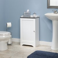 Soft White Floor Cabinet - Caraway