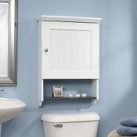 Soft White Wall Cabinet - Caraway