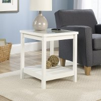 Cottage Road Soft White Side Table