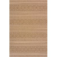 5 x 8 Medium Brown Indoor-Outdoor Rug - Solarium