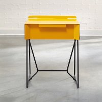 Yellow Saffron End Table - Soft Modern
