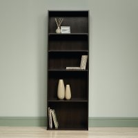 Cinnamon Cherry 5-Shelf Bookcase - Beginnings