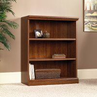 Planked Cherry 3-Shelf Bookcase - Camden County