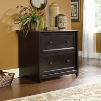 Estate Black 2 Drawer Lateral File Cabinet - Edge Water