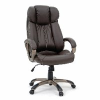 Brown Leather Executive Chair - Gruga