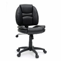 Black Task Chair - Gruga