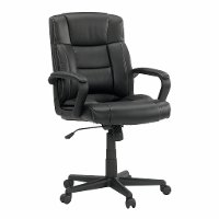 Black Managers Chair - Gruga