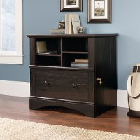 Antiqued Paint Lateral File Cabinet - Harbor View
