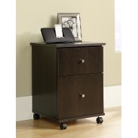 Cinnamon Cherry 2 Drawer File Cabinet - Office