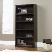 Cinnamon Cherry 5-Shelf Bookcase - Storage