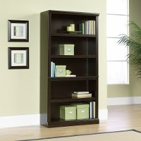 Jamocha 5-Shelf Bookcase - Storage