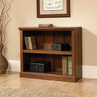 Cherry 2-Shelf Bookcase - Storage