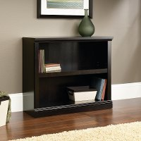Black 2-Shelf Bookcase - Storage