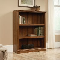 Cherry 3-Shelf Bookcase - Storage