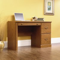 Carolina Oak Computer Desk - Orchard Hills