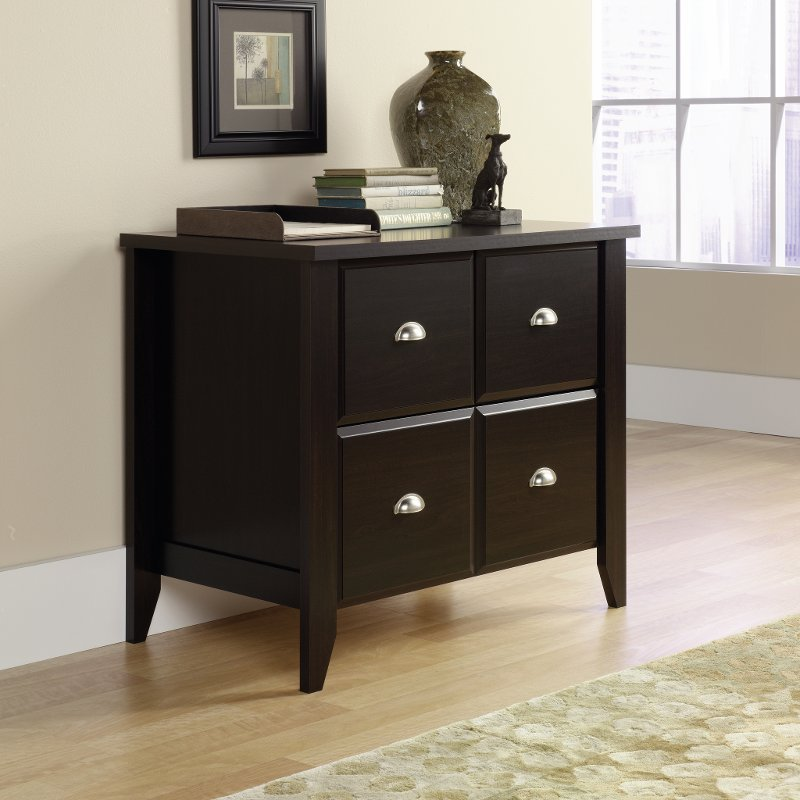 Jamocha 1 drawer Lateral File Cabinet - Shoal Creek